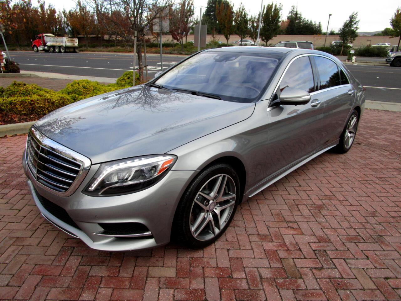 2015 Mercedes-Benz S550 AMG SPORT-PREM 1**FULL DRVR ASST*LUX SEATS*PANO*