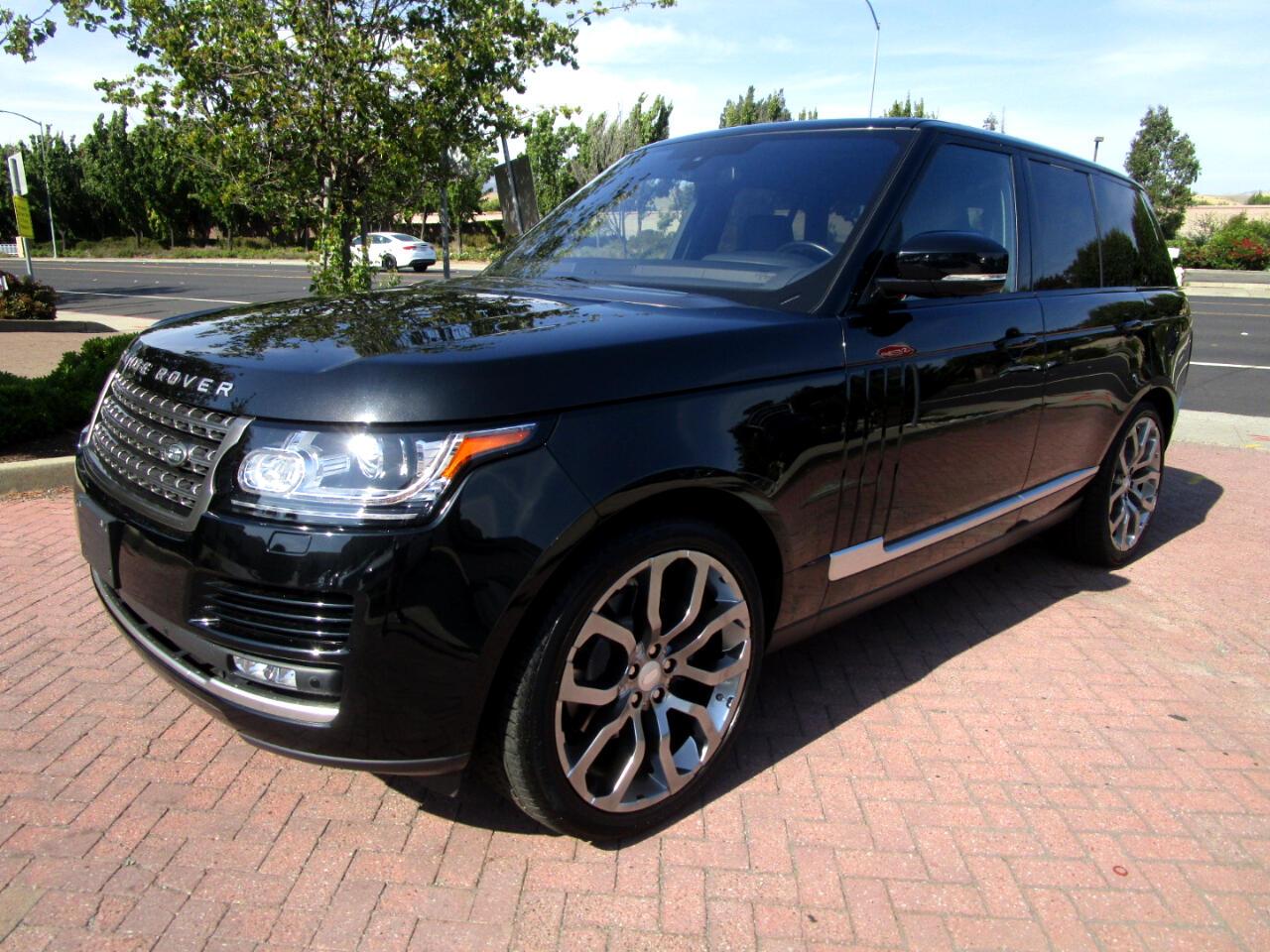 2016 Land Rover Range Rover SUPERCHARGED 3.0 LITER V6*BLIND SPOT*HEAT SEATS*PA