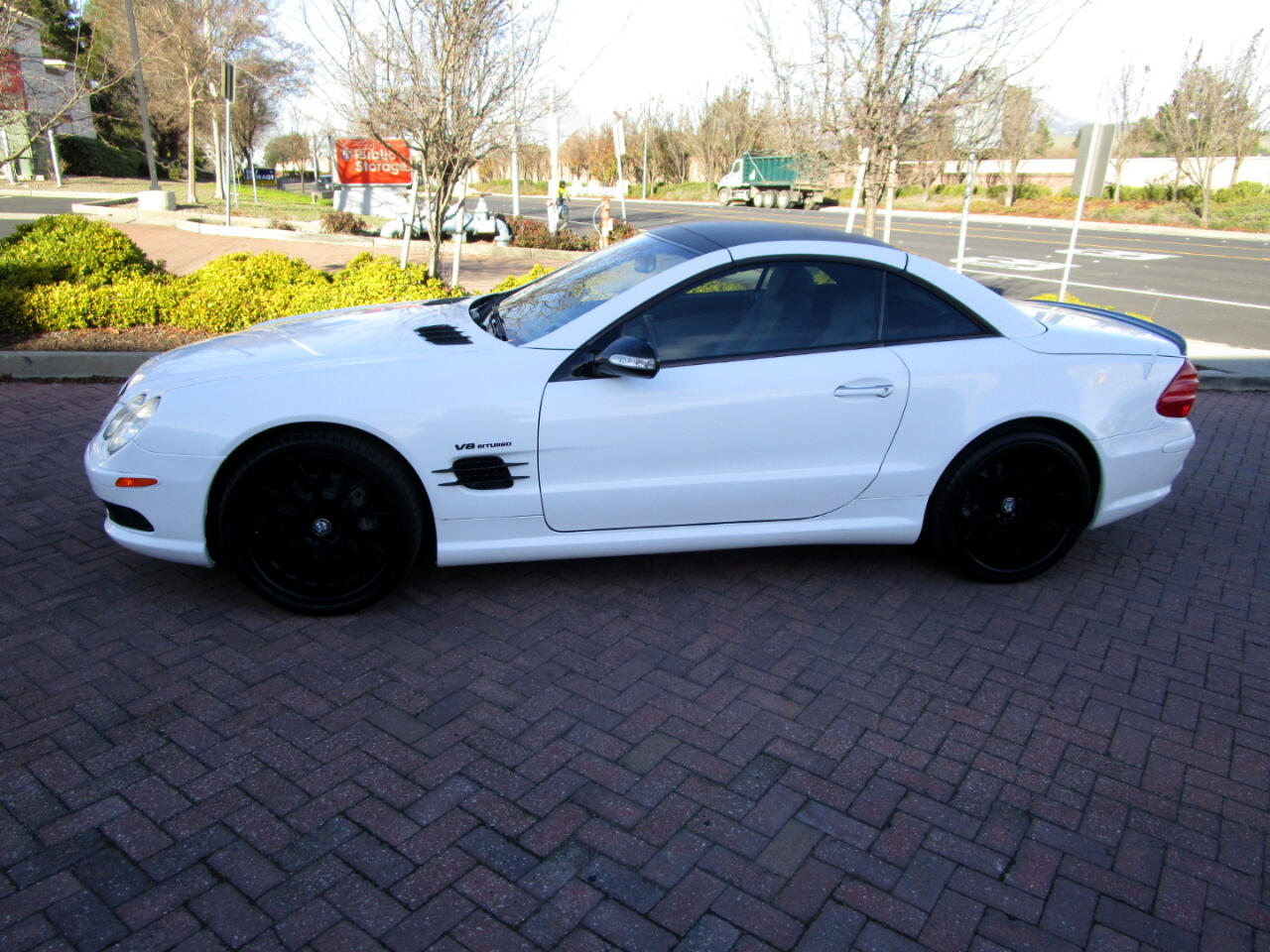 2003 Mercedes-Benz SL-Class SL500 W/$15K IN SL55 AMG TRIM*WHITE WRAP BY A PRO*