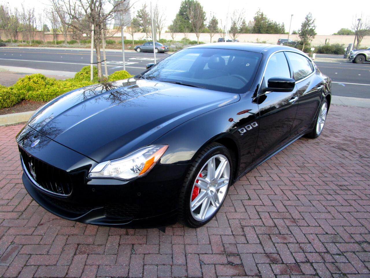 2015 Maserati Quattroporte Q4 QUATTRO*REMOTE START*HEATED SEATS*SAT RADIO*