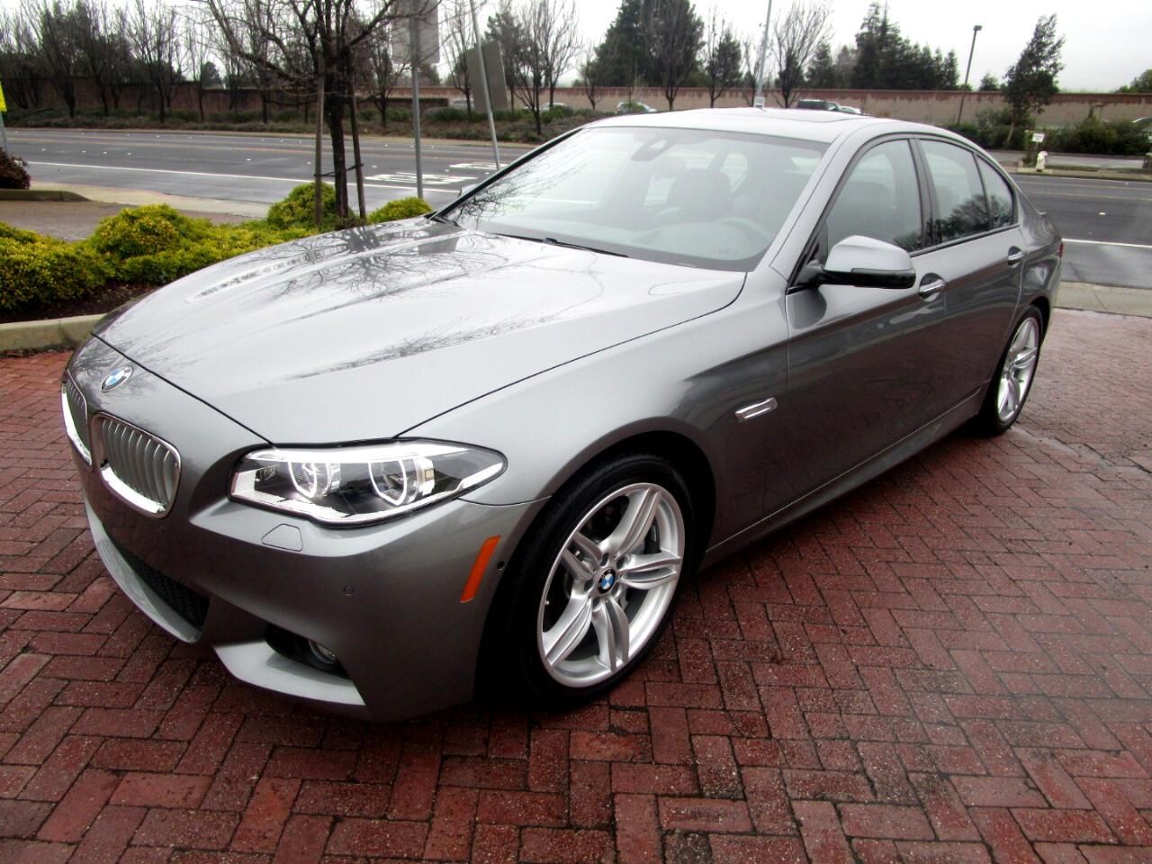 2016 BMW 550i M SPORT-PREM*EXEC*COLD WTHR*DRIVER ASSIST*F/R CAMS