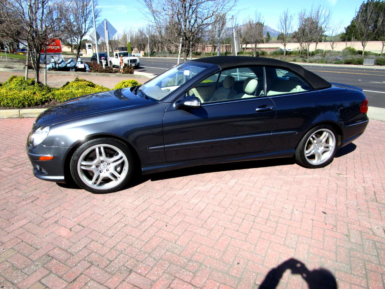 2008 Mercedes-Benz CLK-Class CLK550*SPORT PKG*NAV*HEATED SEATS*SAT RADIO*