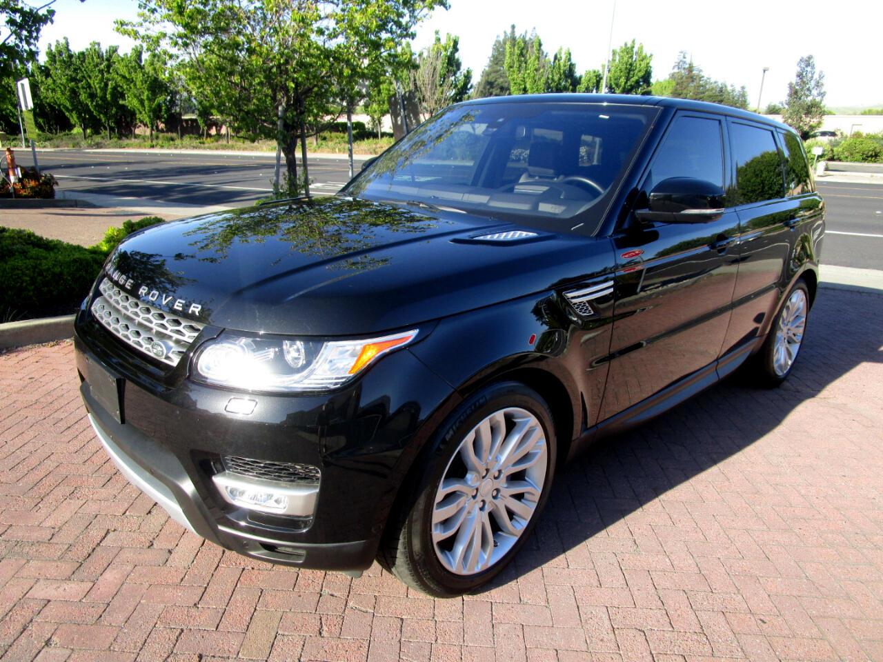 2016 Land Rover Range Rover Sport SUPERCHARGED V6*HEAT/AC SEATS*REAR HEAT SEATS*PANO