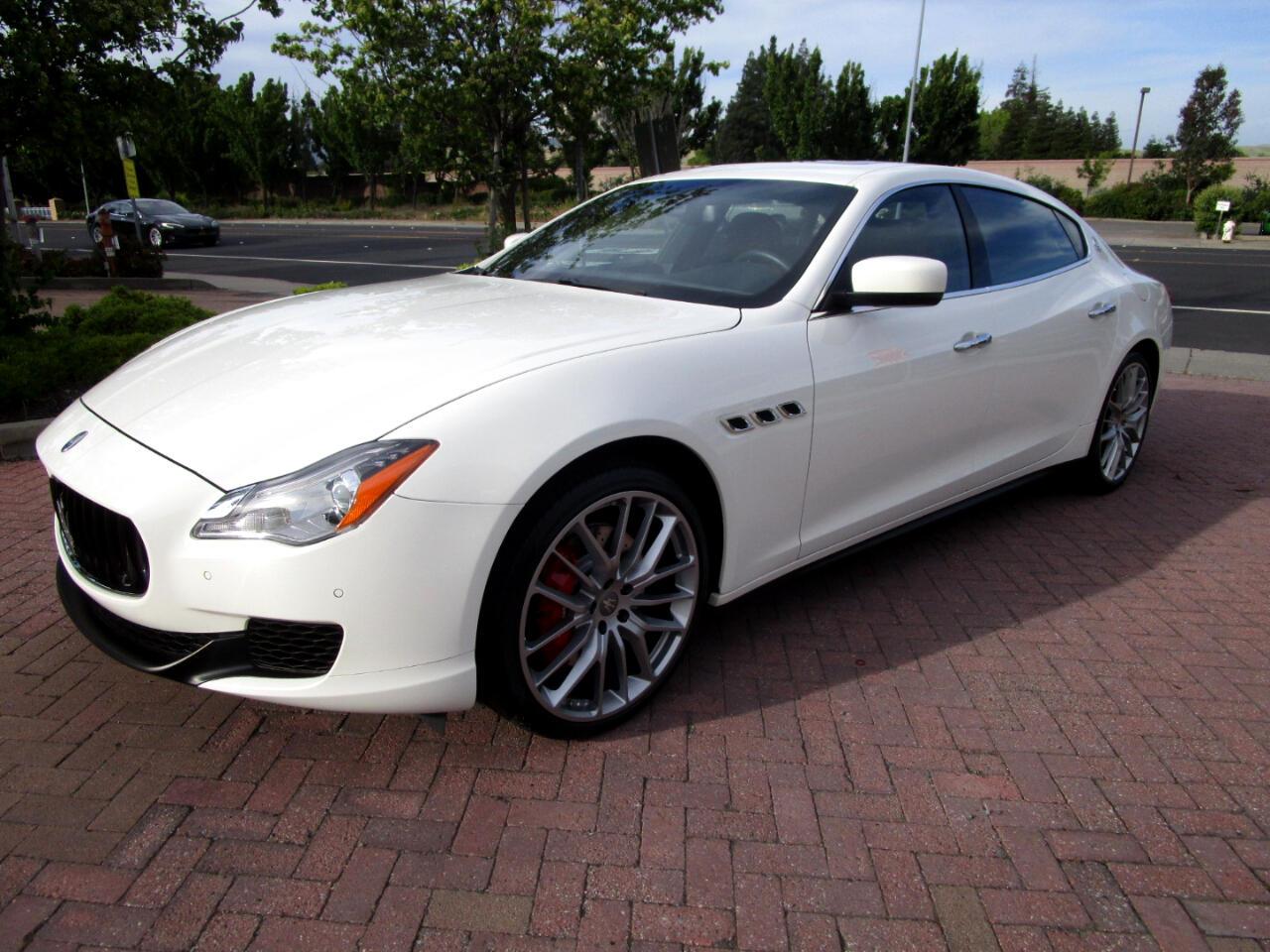 2016 Maserati Quattroporte S SPORT**HEAT-AC SEATS*REAR HEAT SEATS*BLIND SPOT*