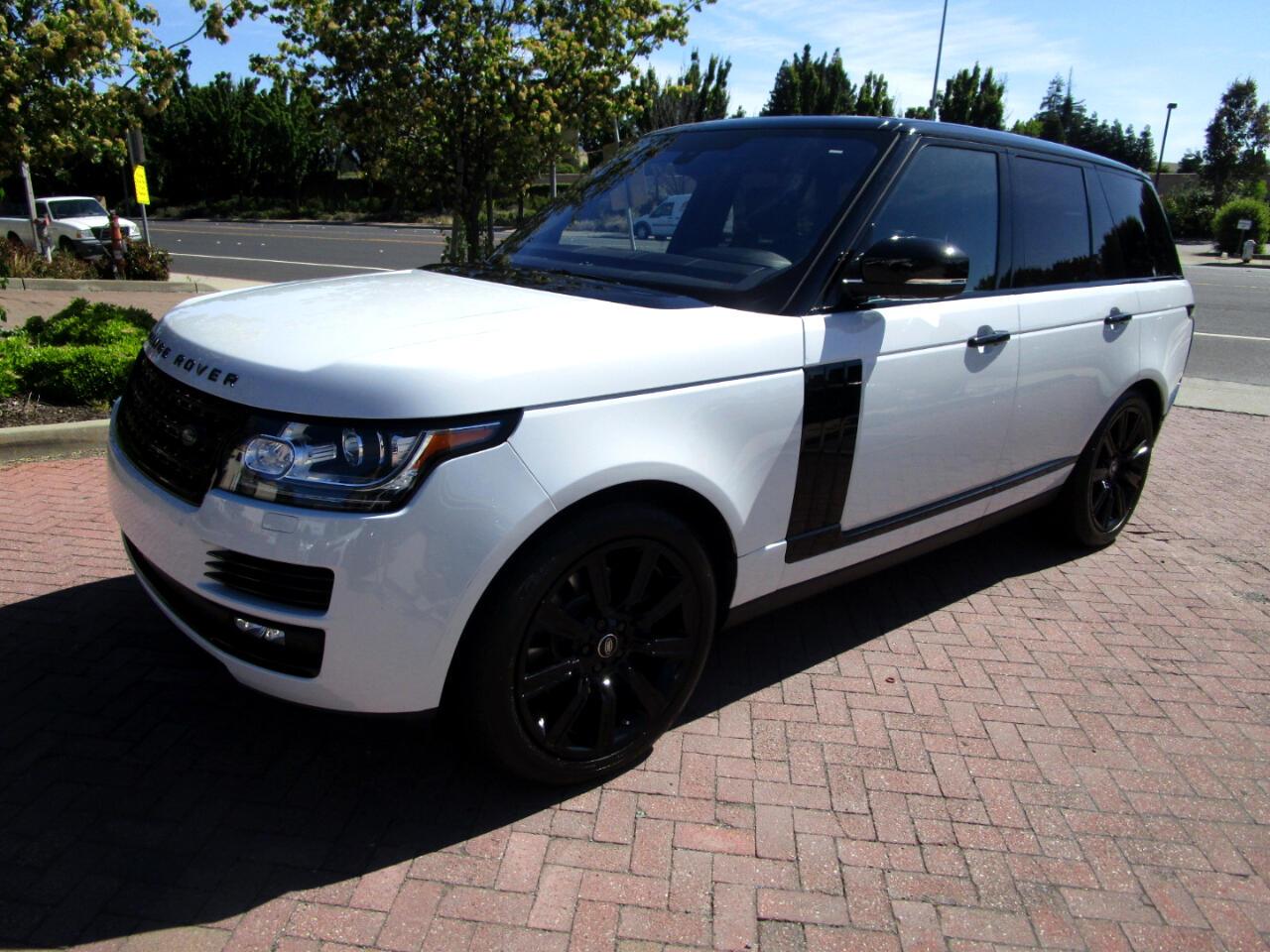 2016 Land Rover Range Rover HSE DIESEL**VELAR BLK TRIM PKG*HEAT-AC SEATS**PANO