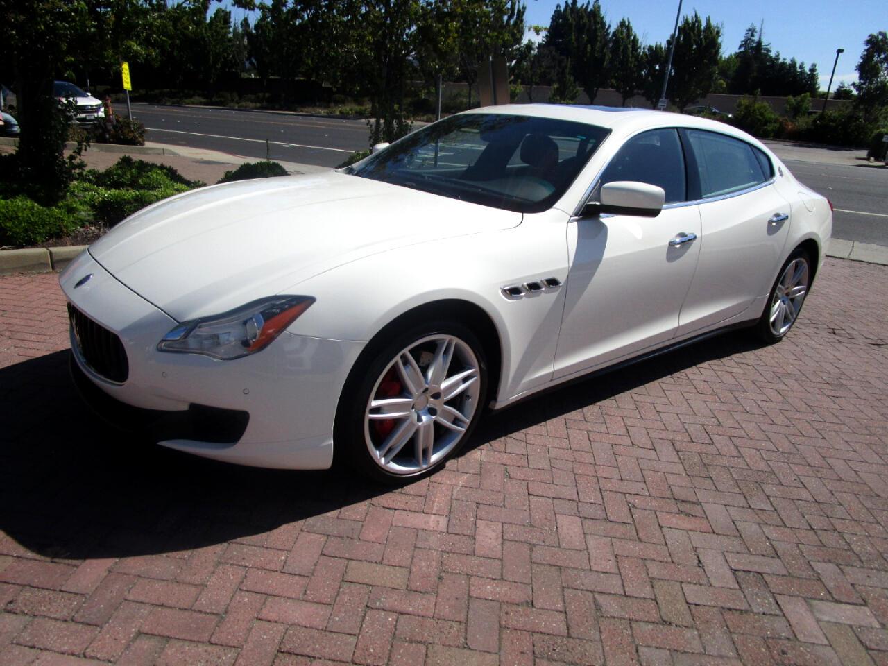 2015 Maserati Quattroporte SQ4 TURBO QUATTRO*HEAT SEATS*NAV*SAT RADIO*REAR CA