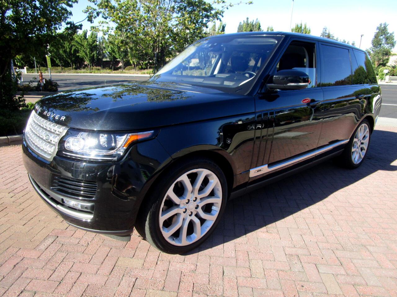2016 Land Rover Range Rover S/C 5.0 V8*LONG WHEEL BASE**DRIVER ASSIST*HEAT/AC