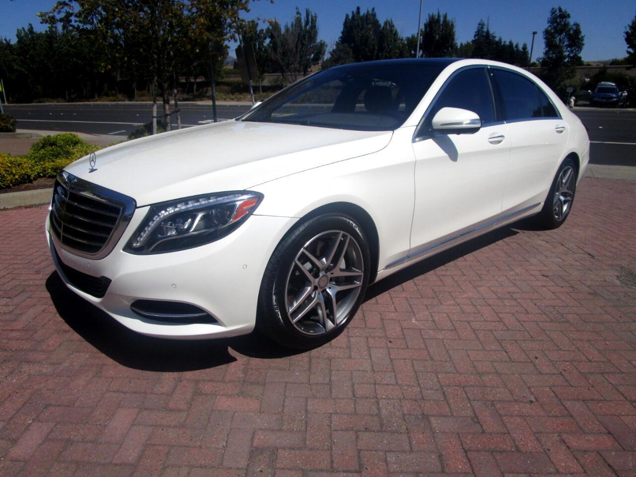 2016 Mercedes-Benz S550 TWIN TURBO V8*FULL DRIVER ASSIST**DYNAMIC HEAT/AC