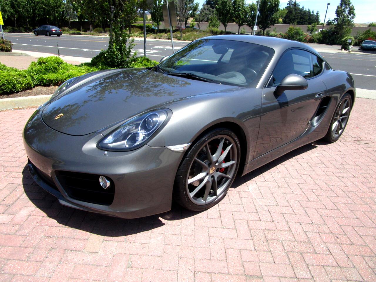 2014 Porsche Cayman S 6 SPEED MANUAL*HEAT/AC SEATS*NAV*SAT*BLUETOOTH*
