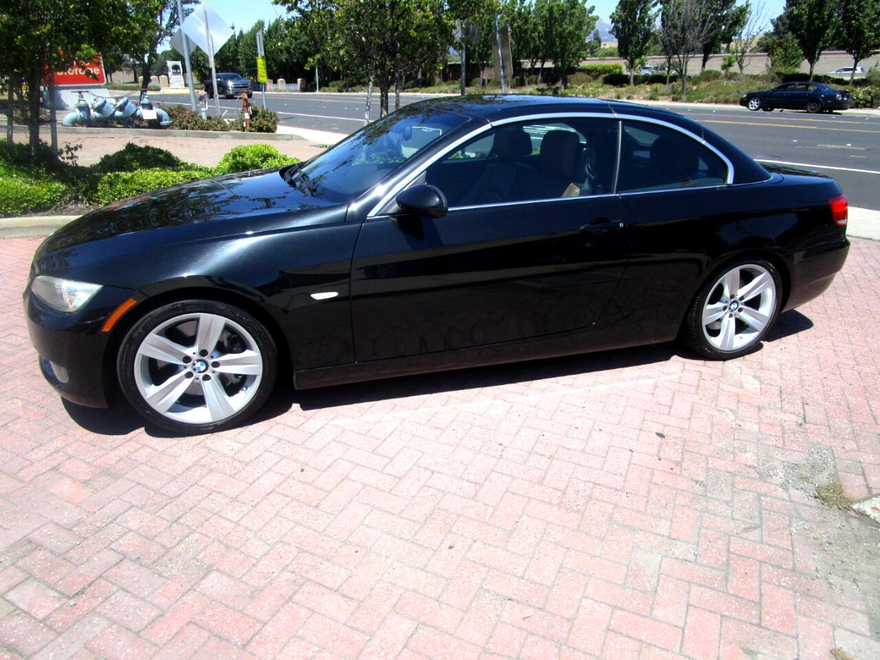 2009 BMW 335i M SPORT CONV**POWER LTHR HEAT SEATS*NAV*SAT*BLUTH*