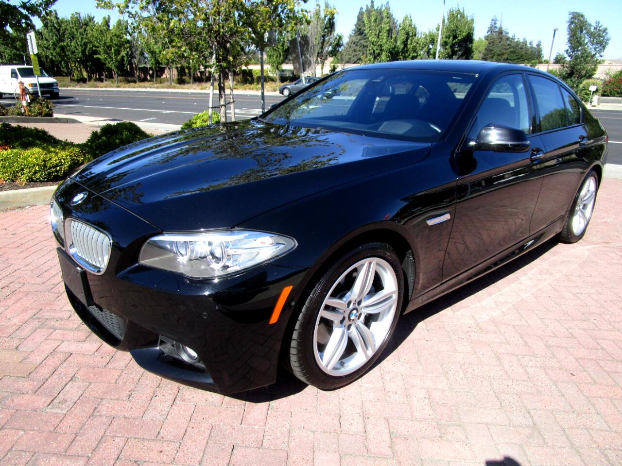 2016 BMW 550i M SPORT-EXEC*PREM PKG'S*DRIVER ASSIST PLUS*NAPPA S