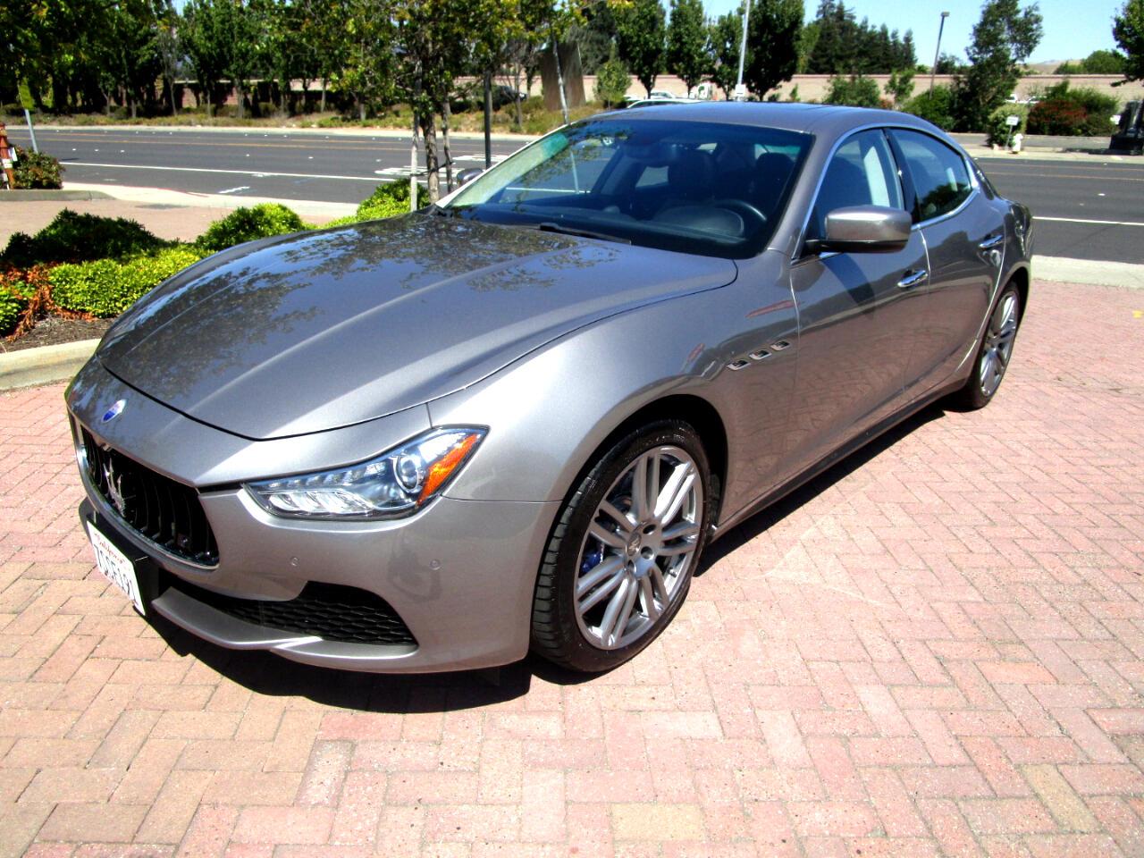 2016 Maserati Ghibli S TWIN TURBO**NAVI**HEAT SEATS**HK SOUND/SAT RADIO