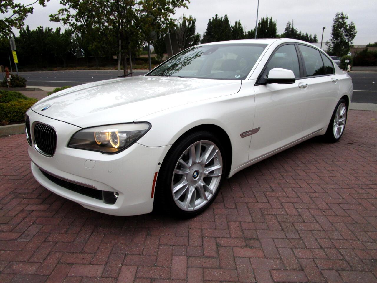 2009 BMW 750i INDIVIDUAL PKG**DRIVER ASSIST**BLIND SPOT*LANE KEE