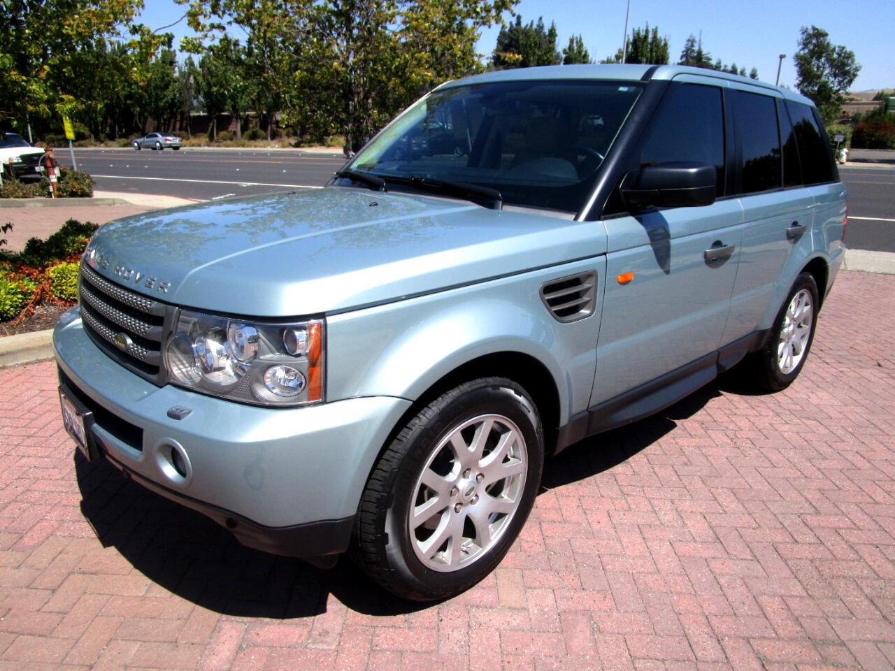 2008 Land Rover Range Rover Sport HSE AWD**NAV*HK SOUND/SAT RADIO**F/R HEAT SEATS**