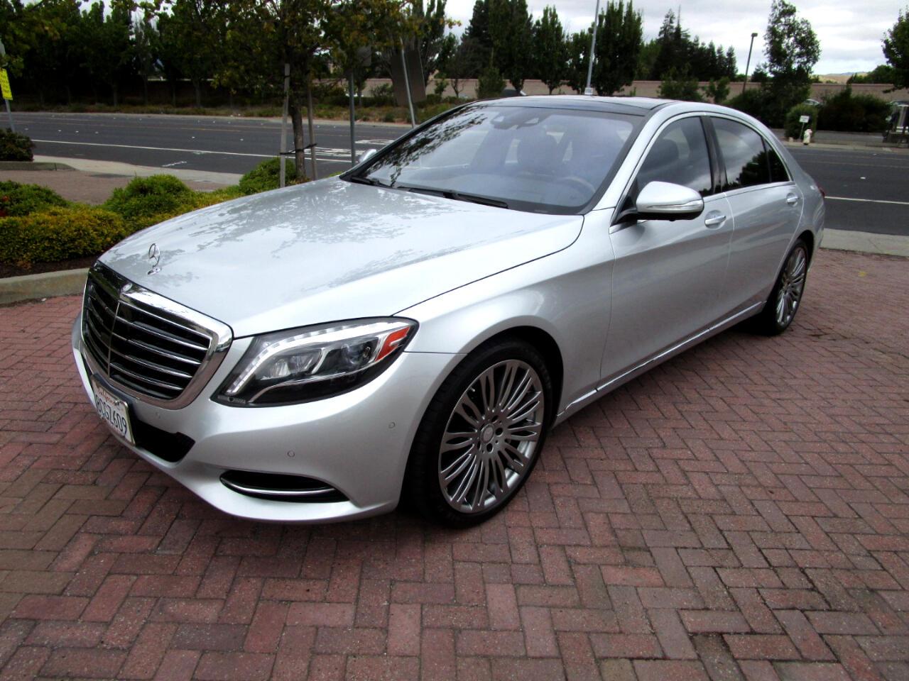 2015 Mercedes-Benz S550 P1**DISTRONIC**FULL DRIVER ASSIST**DYNAMIC HEAT/AC