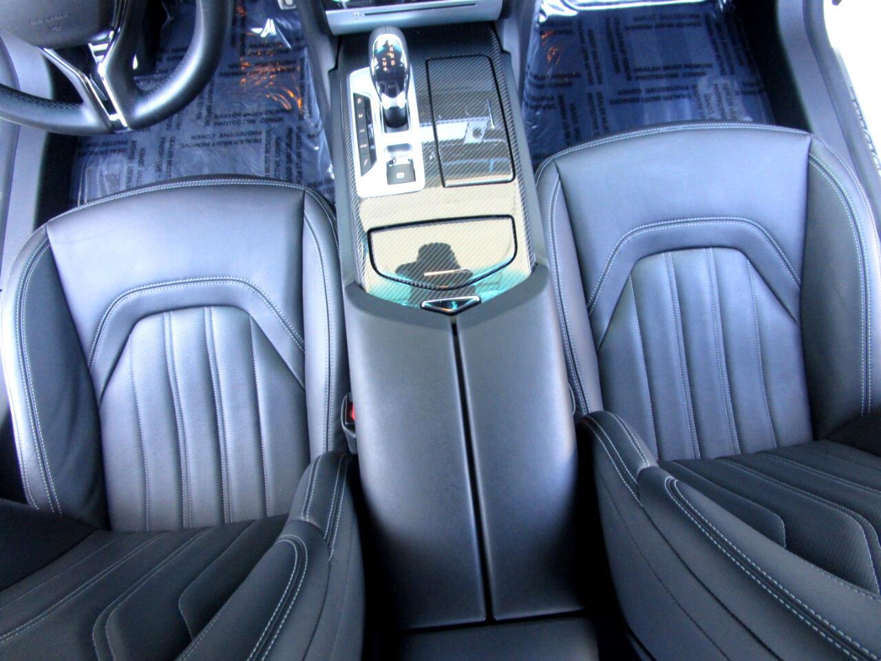 2016 Maserati Quattroporte TWIN TURBO GTS**HEAT-AC SEATS*REAR HEAT SEATS*