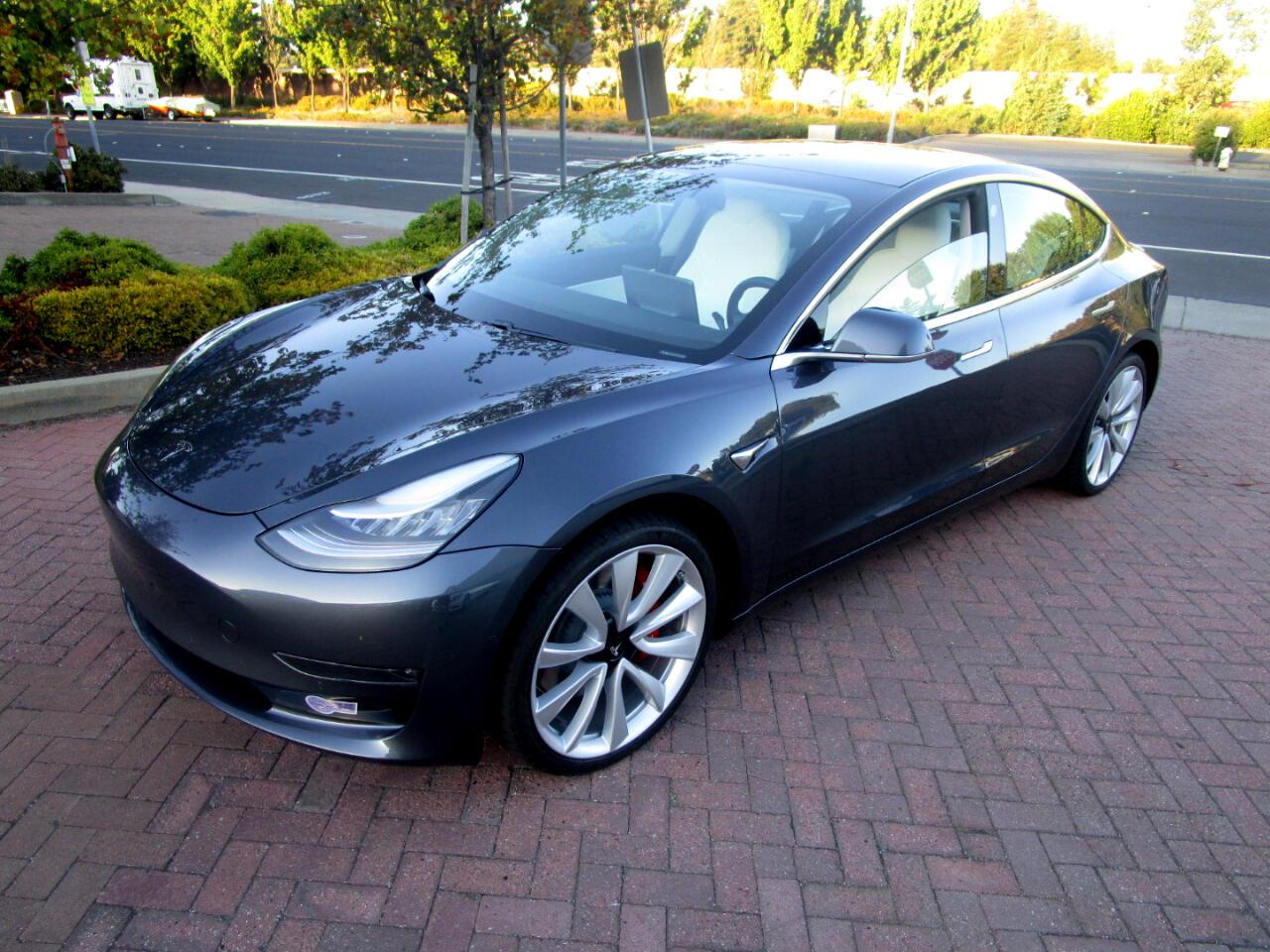 2019 Tesla Model 3 PERFORMANCE AWD LONG RANGE**FULL SELF DRIVING**