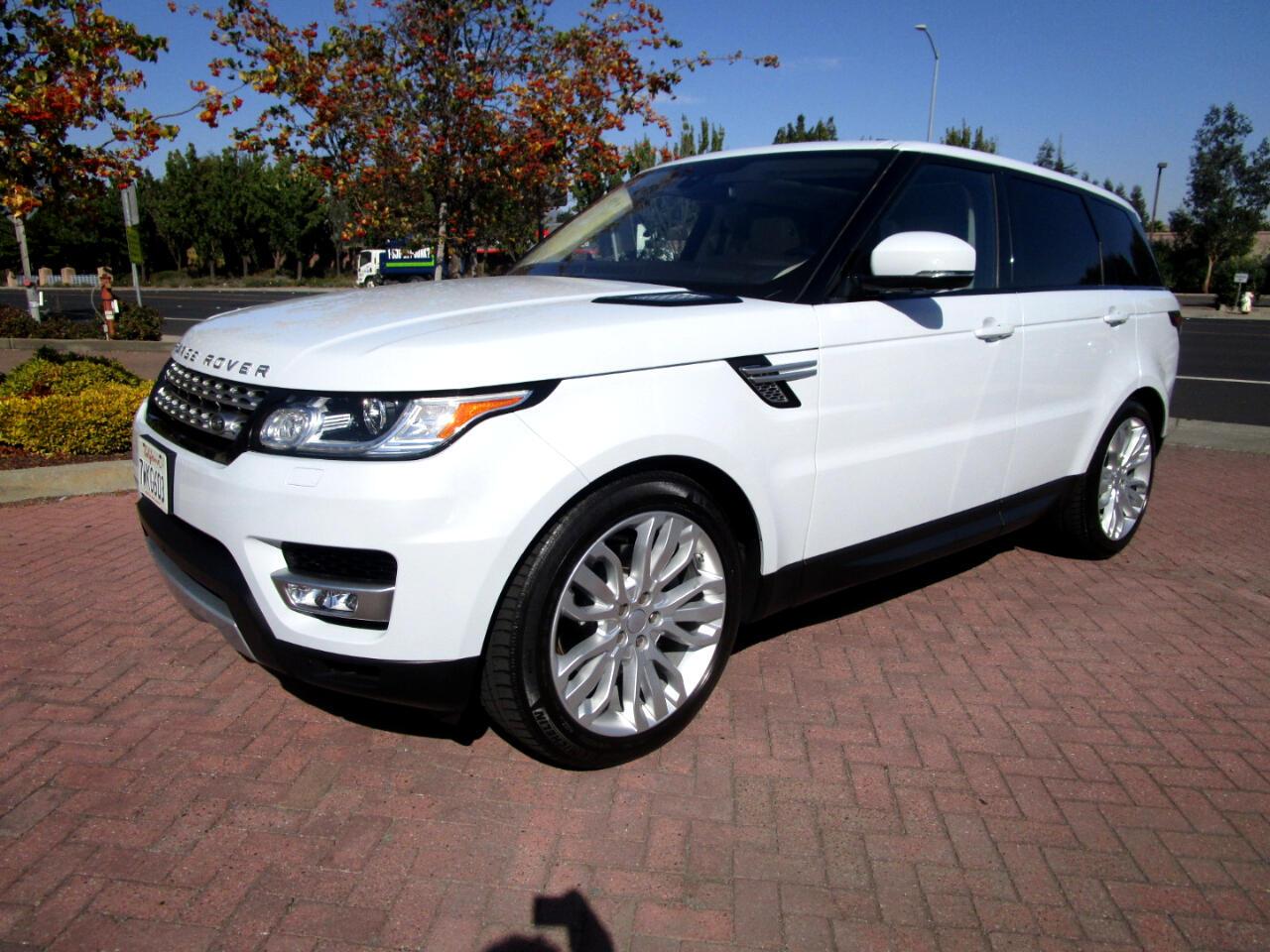 2016 Land Rover Range Rover Sport HSE**PWR 3RD ROW SEAT**HEAT/AC SEATS*REAR HEAT SEA