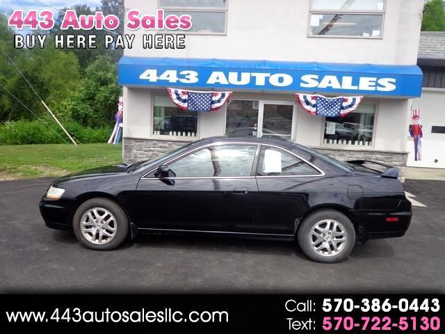 2001 Honda Accord Cpe EX Auto V6 w/Leather
