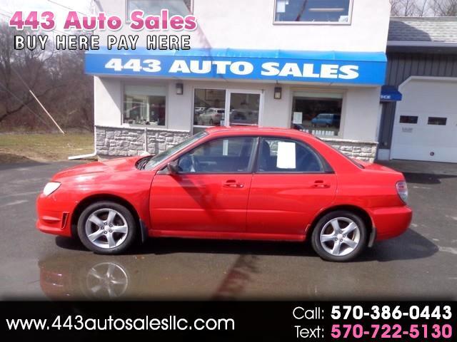 2006 Subaru Impreza Sedan 2.5 i Auto