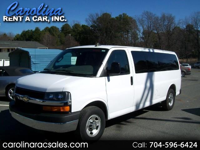 "2016 Chevrolet Express Passenger 3500 155"" WB RWD"