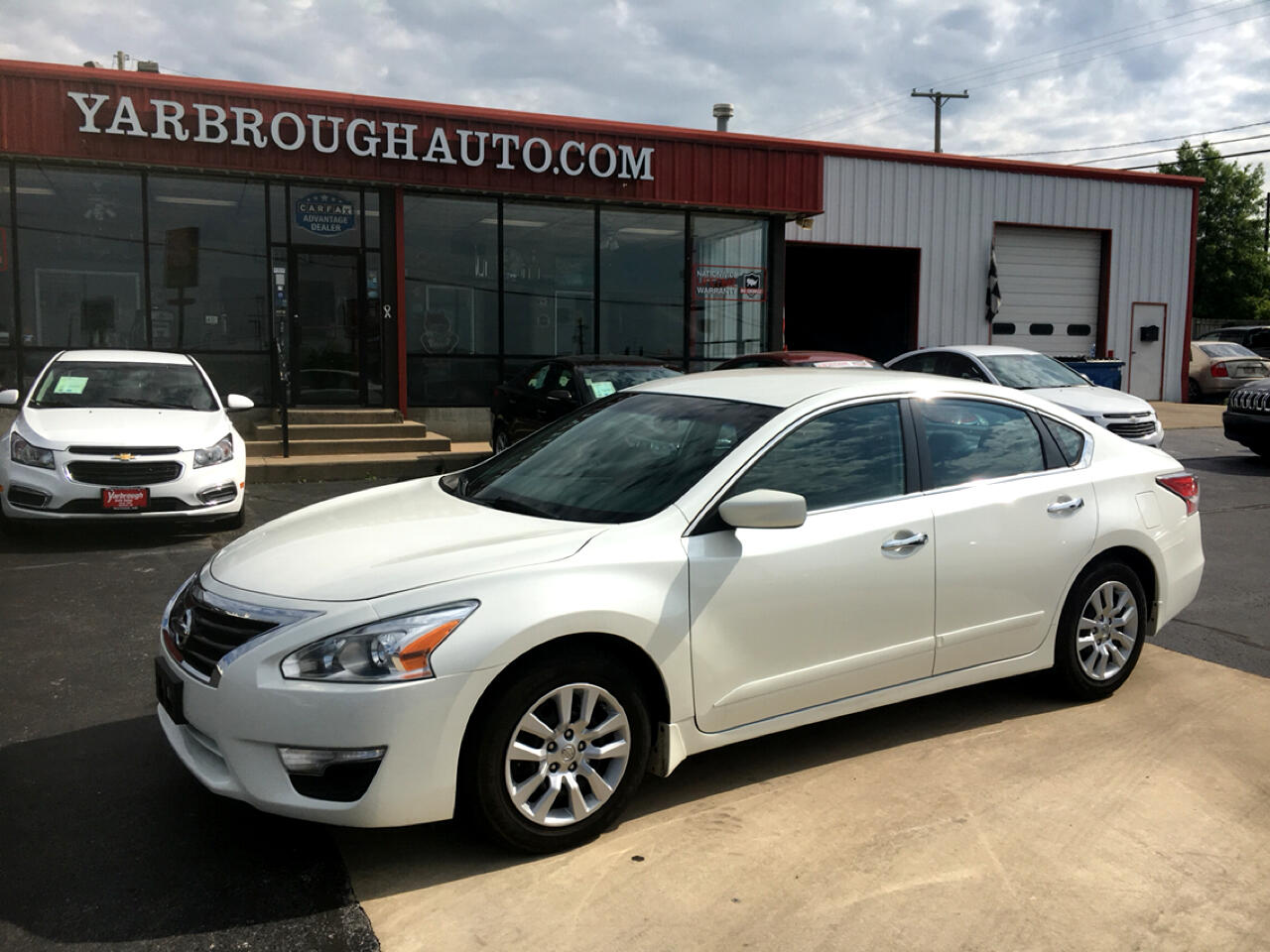 2014 Nissan Altima 4dr Sdn I4 2.5 S