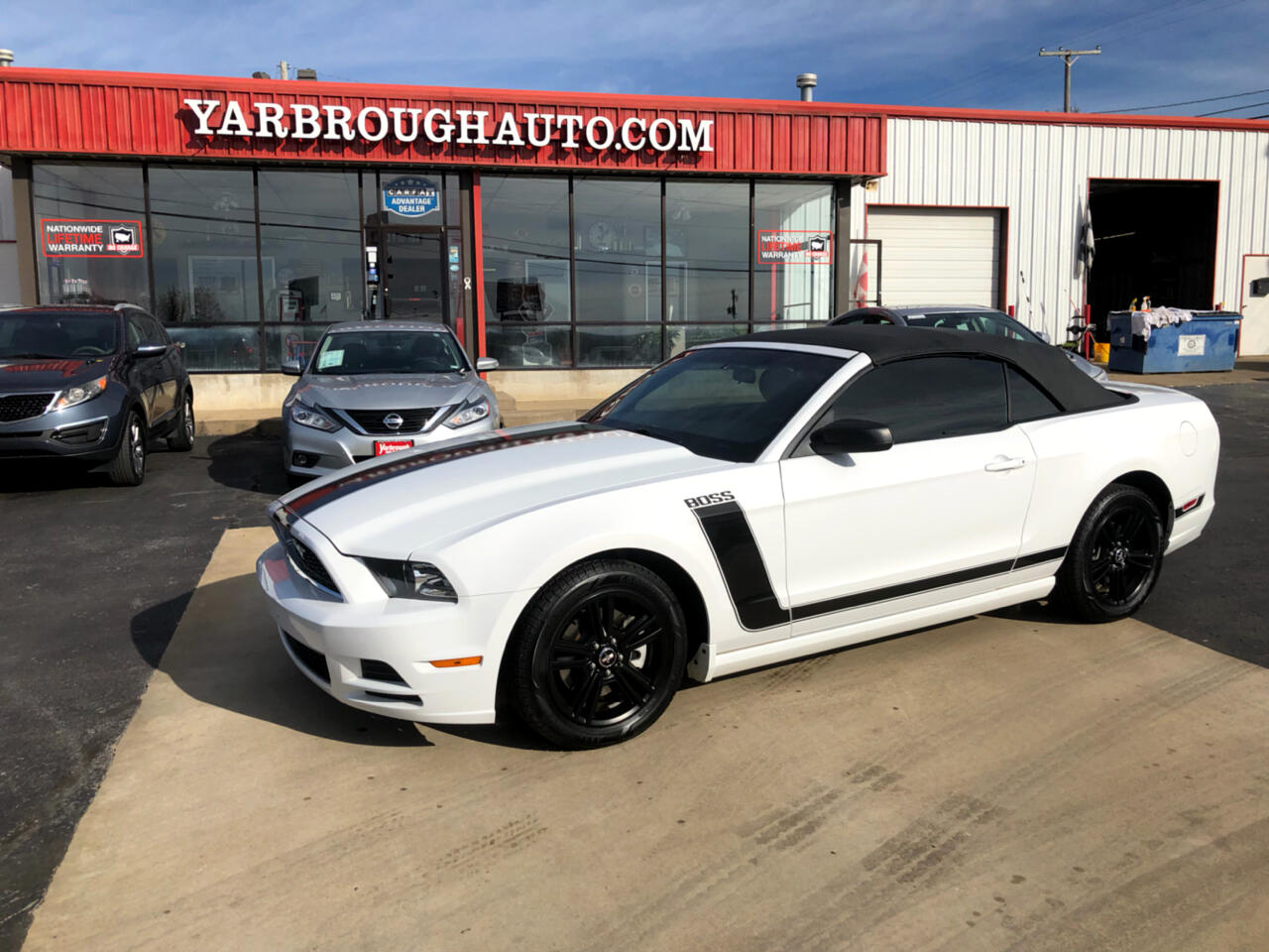 Ford Mustang 2dr Conv V6 2014