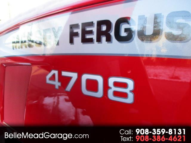 2016 Massey Ferguson Farm 4708 4X4  LOADER  MASSEY
