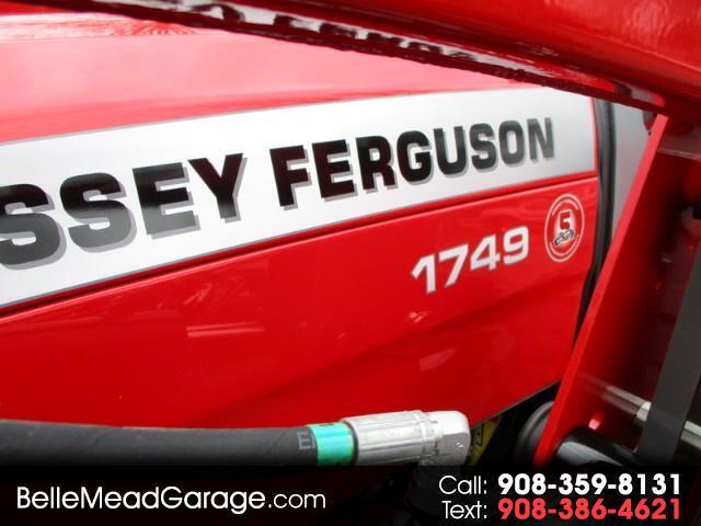 2017 Massey Ferguson Farm 1749  4X4 LOADER TRACTOR  MASSEY