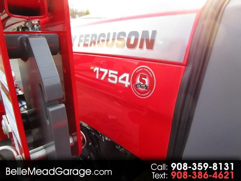 2018 Massey Ferguson Farm 1754 HL CAB 4X4 W/LOADER TRACTOR