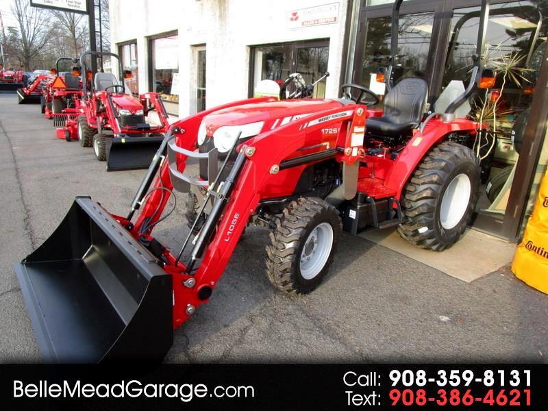 2018 Massey Ferguson Farm 1726EHL 4X4 TRACTOR WITH LOADER