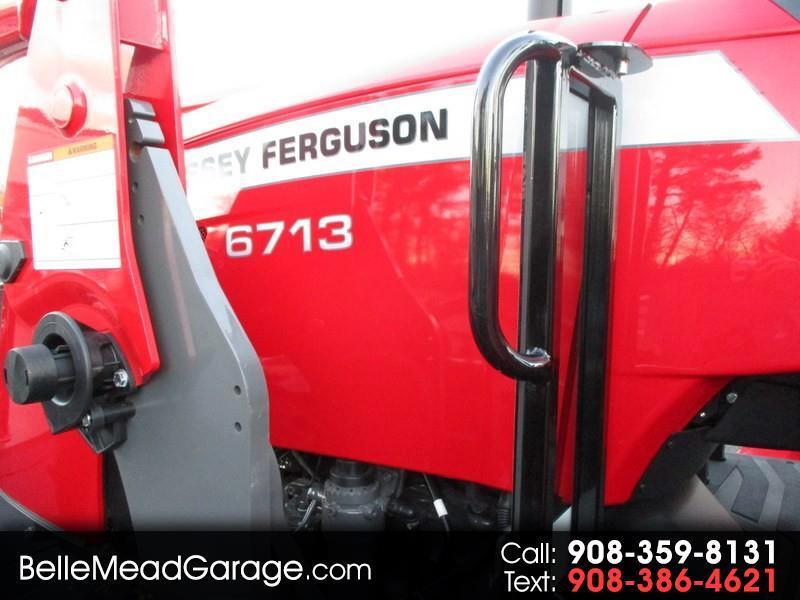2018 Massey Ferguson Farm 6713 4X4 PLATFORM TRACTOR WITH LOADER
