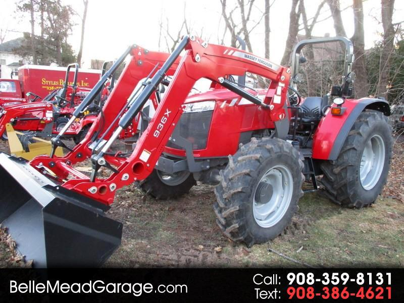 2018 Massey Ferguson Farm MF4710 4X4 TRACTOR WITH LOADER
