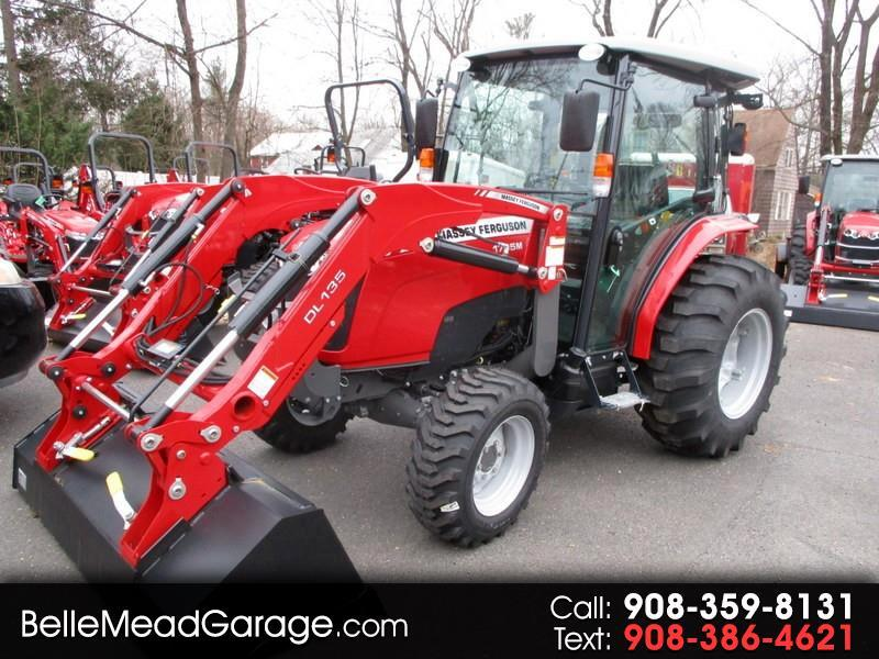 2018 Massey Ferguson Farm MF1755MHL 4X4 CAB LOADER TRACTOR