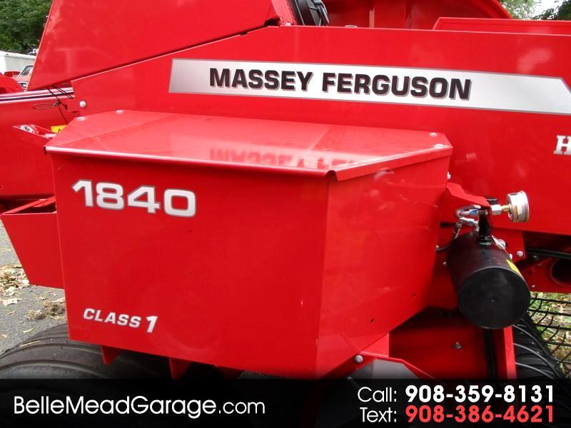 2019 Massey Ferguson Farm MF1840 SQUARE BALER