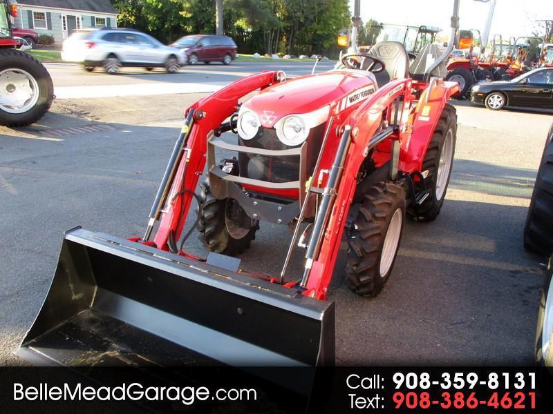 2018 Massey Ferguson Farm 1734EL 4X4 TRACTOR WITH LOADER