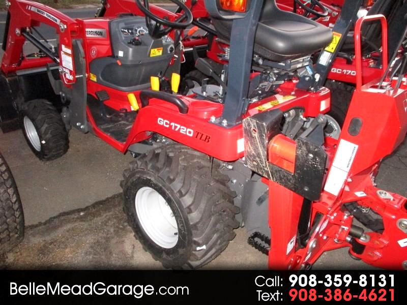 2018 Massey Ferguson Farm GC1720TLB 4X4 TRACTOR LOADER BACKHOE