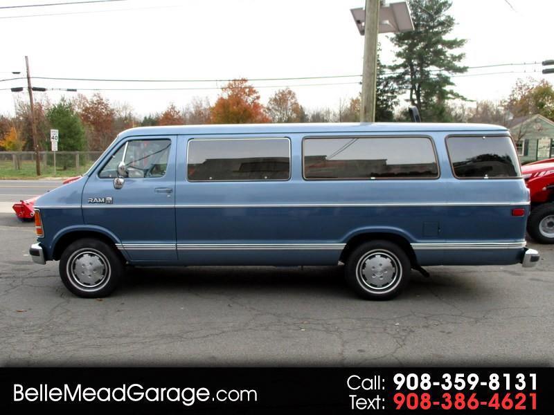 1986 Dodge Ram Wagon B250 RAM WAGON