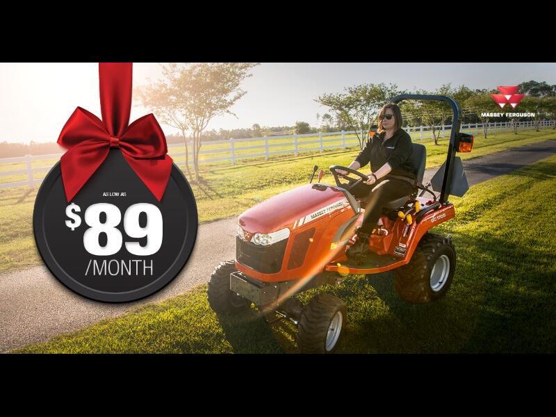 2017 Massey Ferguson Farm $89 PER MONTH DECEMBER SPECIAL!