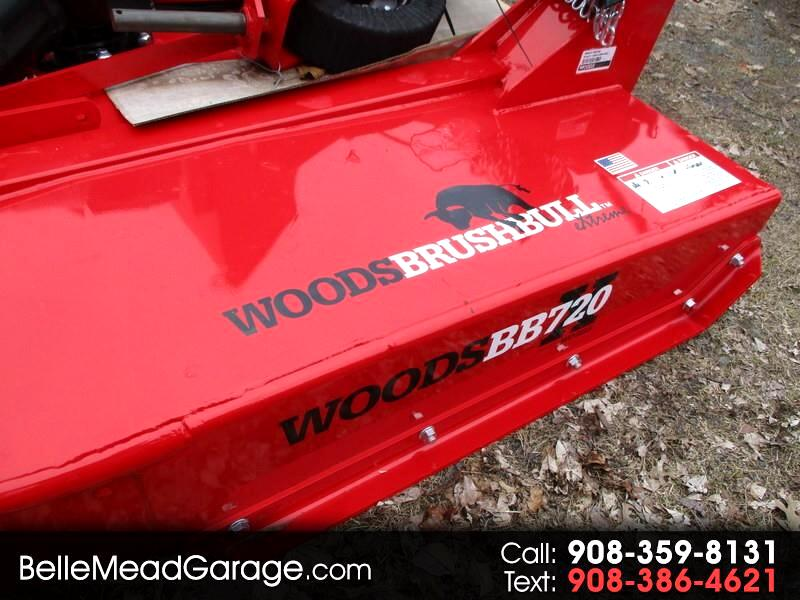 2018 Woods D184-2 BB720XW HD BRUSH MOWER