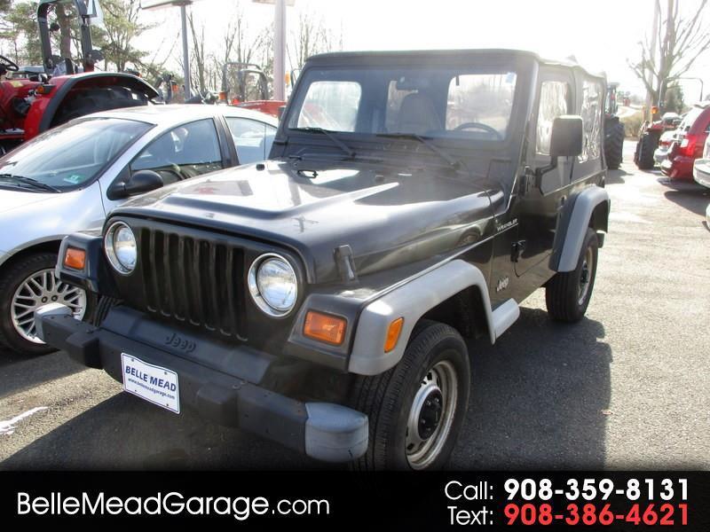 2001 Jeep Wrangler 2dr SE