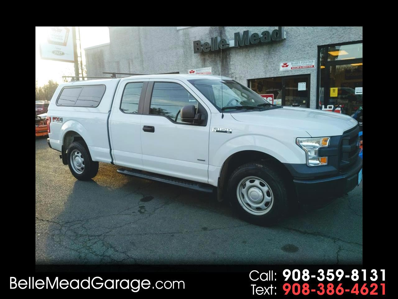 2016 Ford F-150 4WD SuperCab 145