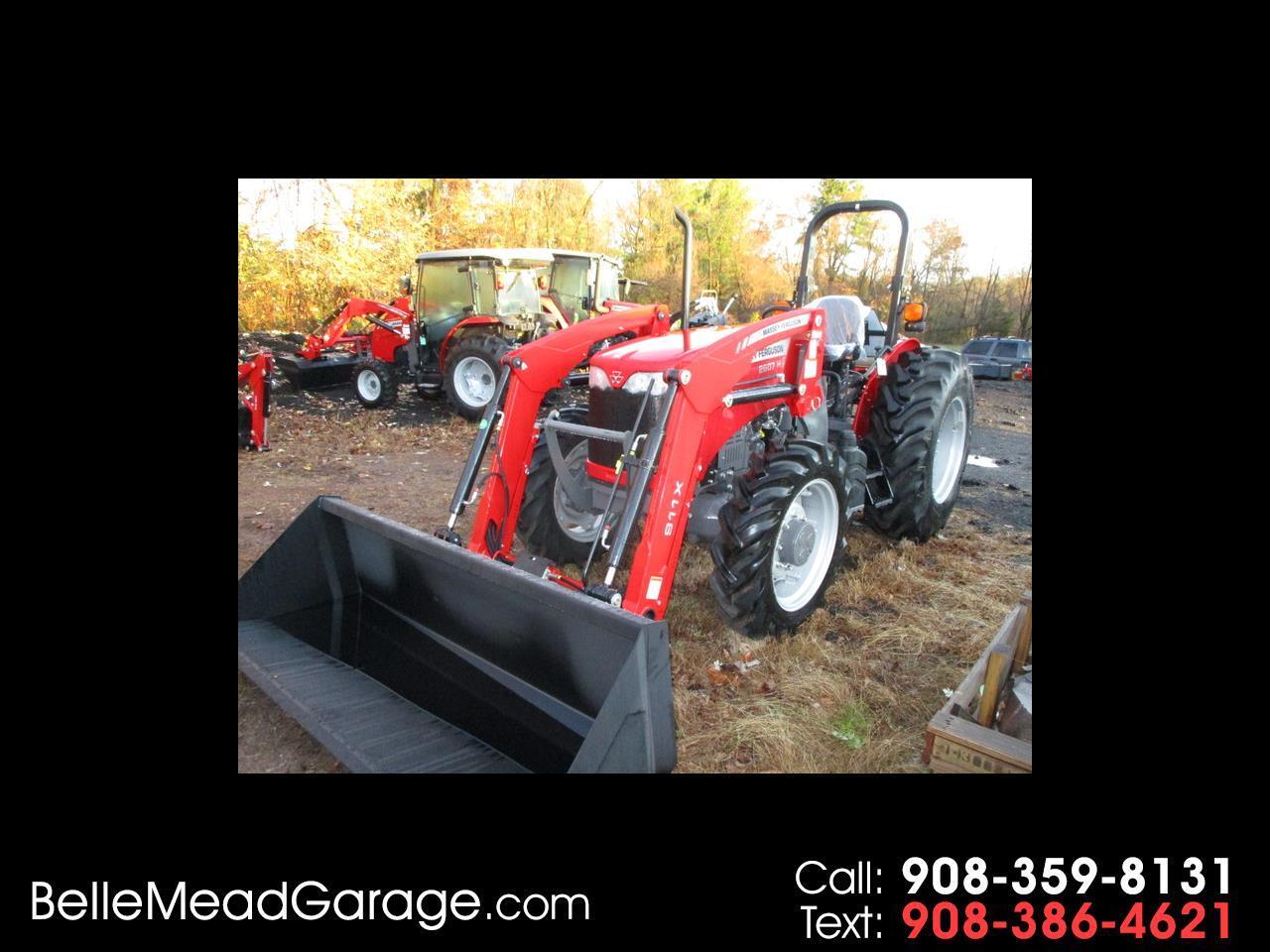 2019 Massey Ferguson Farm 2607H 4X4 TRACTOR LOADER