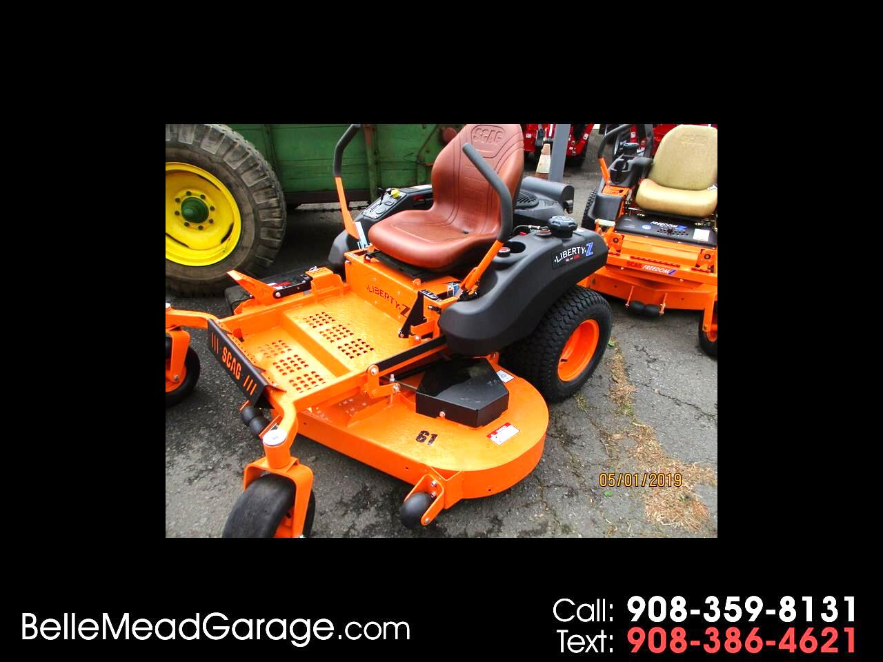 """2019 SCAG Mower LIBERTY Z RIDER WITH 61"""" MOWER AND 26 HP KOHLER"""