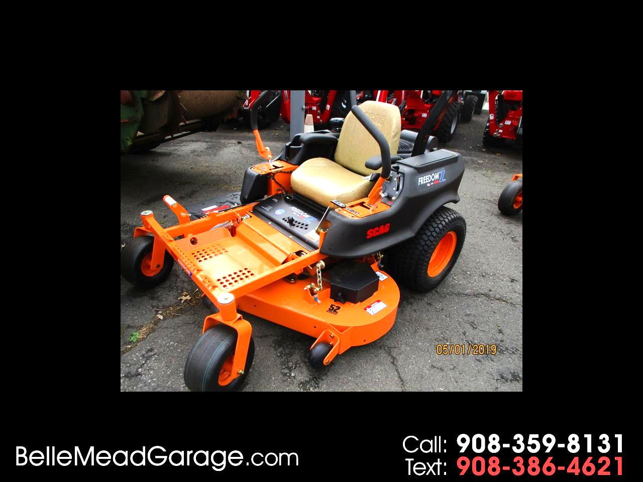 2019 SCAG Mower SCAG FREEDOM Z WITH 52