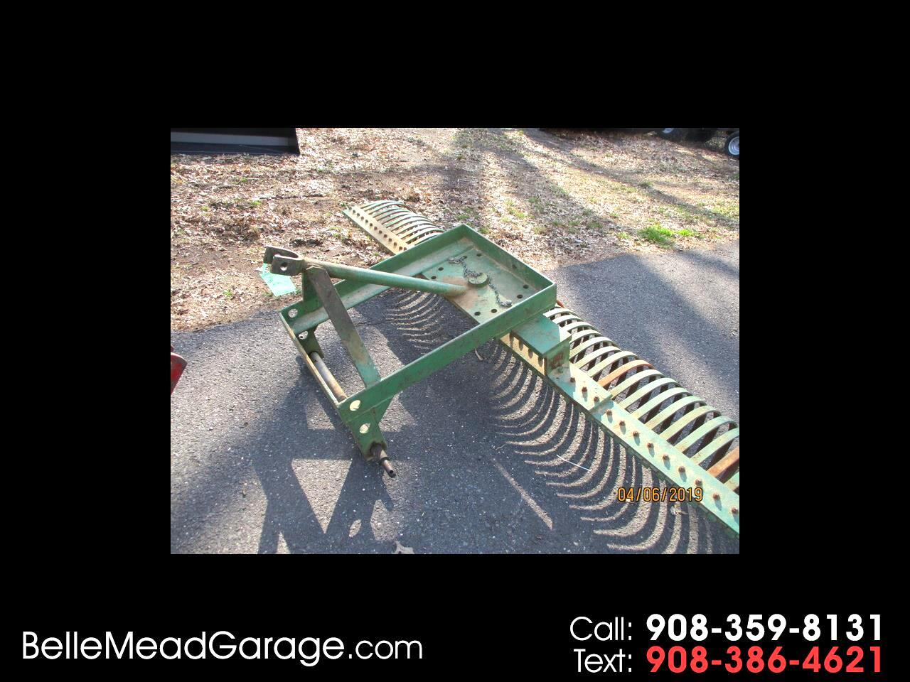 1970 Farm Machinery LANDSCAPE RAKE 8' FOR 3 POINT