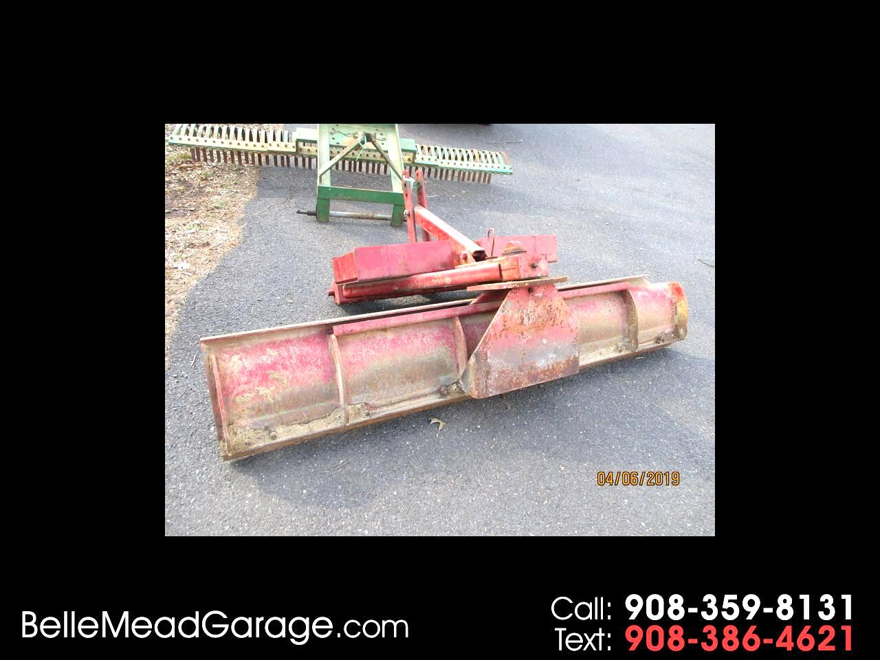 1975 Farm Machinery SCRAPER BLADE 7' FOR 3 POINT MOUNT