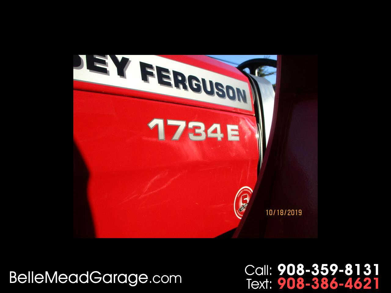 2019 Massey Ferguson Farm MF1734EHL 4X4 TRACTOR WITH LOADER
