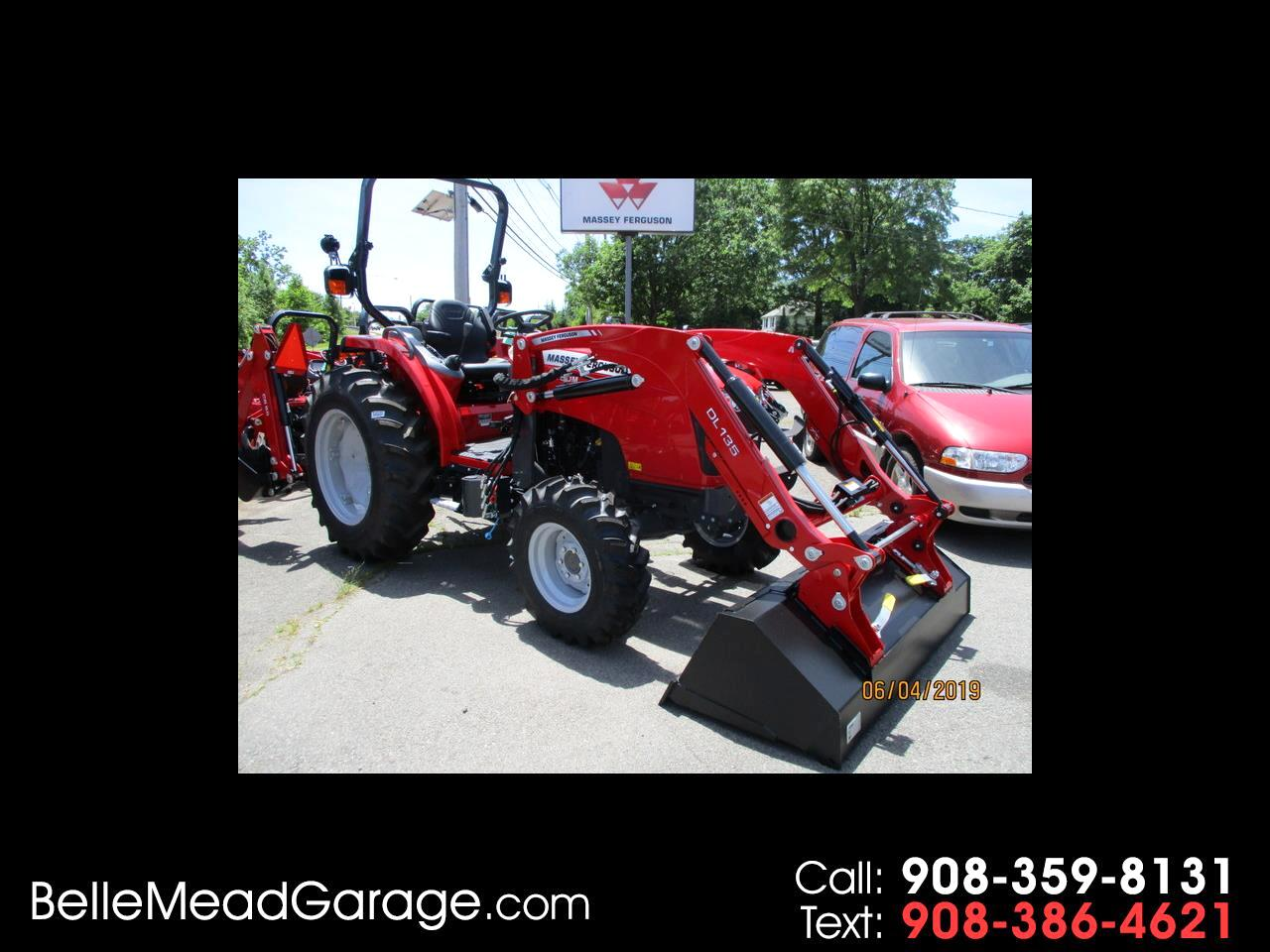 2019 Massey Ferguson Farm 1750ML 4X4 TRACTOR LOADER WITH HYDRO