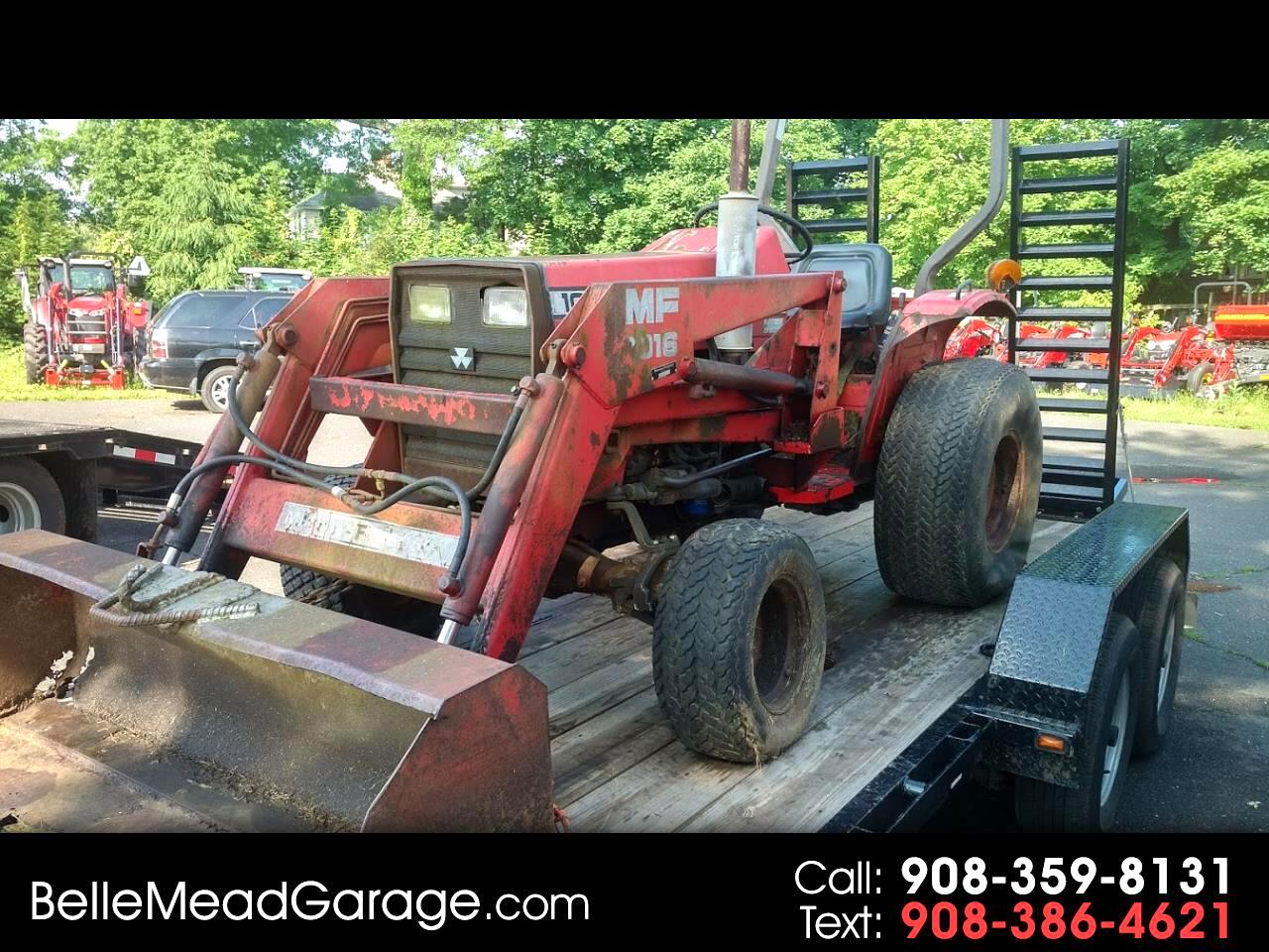 1991 Massey Ferguson Farm 1030 4X4 TRACTOR WITH LOADER